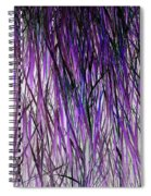 Flowering Grass Of The Future Spiral Notebook