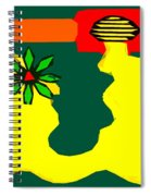 Flowering Melody 2 Spiral Notebook
