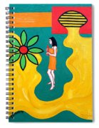 Flowering Melody Spiral Notebook