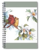 Flowering Season II Spiral Notebook