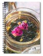 Flowering Tea  Spiral Notebook