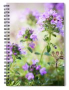 Flowering Thyme Spiral Notebook