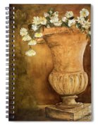 Flowering Urn Spiral Notebook