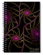 Flowering Vine Spiral Notebook
