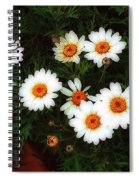 Flowering Yew Spiral Notebook