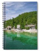 Flowerpot Island - Georgian Bay, Ontario Spiral Notebook