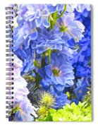 Flowers 41 Spiral Notebook
