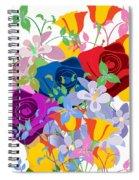 Flowers 7 Spiral Notebook
