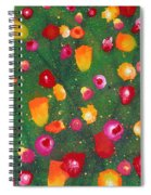 Flowers Afloat Spiral Notebook