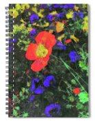 Flowers After Mass Spiral Notebook