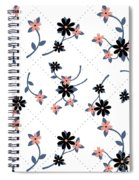 Flowers All Around Spiral Notebook