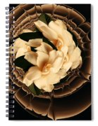Flowers And Chocolate Spiral Notebook