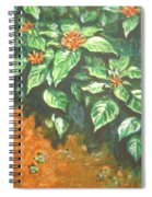 Flowers And Earth Spiral Notebook