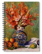 Flowers And Fruit 1889 Spiral Notebook