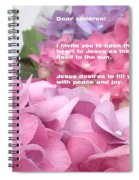 Flowers And Joy  Spiral Notebook