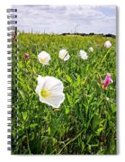 Flowers And Landscapes Along Texas Highway Roadside In Spring Spiral Notebook