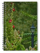Flowers And Lanterns Spiral Notebook