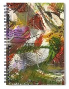 Flowers And Leaves IIi Spiral Notebook