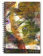 Flowers And Leaves Iv Spiral Notebook