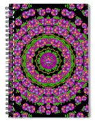 Flowers And More Floral Dancing A Power Peace Dance Spiral Notebook