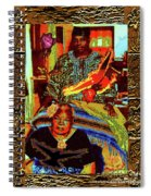 Flowers And Wings For Her Tears And Years Spiral Notebook