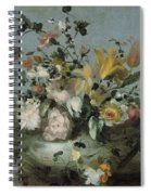 Flowers, Anonymous, C. 1700 - C. 1799 Spiral Notebook