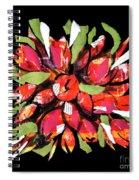 Flowers, Art Collage Spiral Notebook