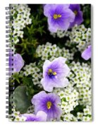Flowers Etc Spiral Notebook