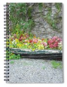 Flowers Floating Spiral Notebook