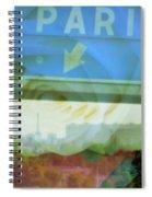 Flowers For Paris Spiral Notebook