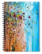 Flowers For The Bees Spiral Notebook