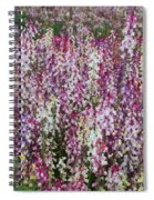 Flowers Forever Spiral Notebook
