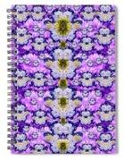 Flowers From Sky Bringing Love And Life Spiral Notebook