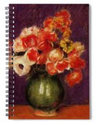Flowers In A Vase 1901 Spiral Notebook