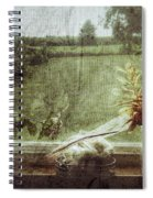 Flowers In A Window Spiral Notebook