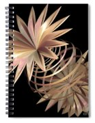 Flowers In Pink Spiral Notebook