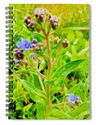Flowers In The Garden Of Life Spiral Notebook