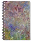 Flowers In The Wind Spiral Notebook