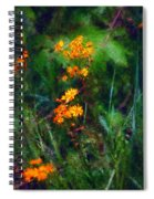 Flowers In The Woods At The Haciendia Spiral Notebook