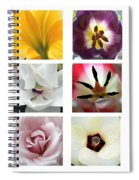 Flowers In The Yard Spiral Notebook