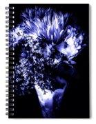 Flowers In Velvety Tones Spiral Notebook