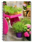 Flowers In Vienna Spiral Notebook