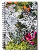 Flowers Of Boca I Spiral Notebook