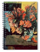 Flowers Of France Spiral Notebook