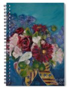 Flowers Of Remembrance Spiral Notebook