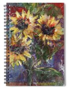 Flowers Of The Gods Spiral Notebook