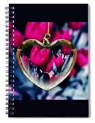 Flowers Of The Heart Spiral Notebook