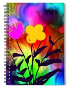 Flowers Of The I-magi-nation Spiral Notebook