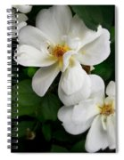 Flowers Of The Moon Spiral Notebook