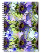 Flowers On The Wall Spiral Notebook